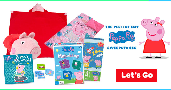 30 Winners will receive a Peppa Pig prize pack in this week's Nick Jr. Sweepstakes #NickJr. Enter for your chance to win daily.
