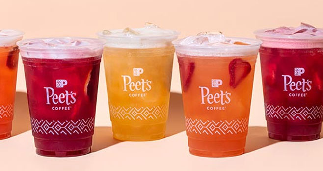 50 WINNERS! #ShakeItWithPeets Peets Coffee is shaking things up with their New Fruit Tea Shakers and want to see how Peetniks are enjoying the new line of drinks. Post a picture of your Fruit Tea Shaker on Instagram, Twitter, or TikTok, use the hashtag #ShakeItWithPeets, and have a chance to win Peet's branded gear. And don't forget to tag us @peetscoffee!