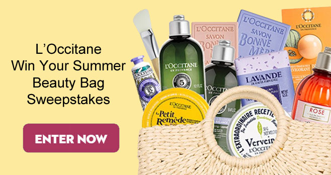 10 WINNERS! Enter for your chance to win a L'Occitane Summer Beauty Bag to get fresh for the season. You'll meet our new verbena deodorant balm and find all-time favorites like Le Petit Remède Cosmetic Balm.