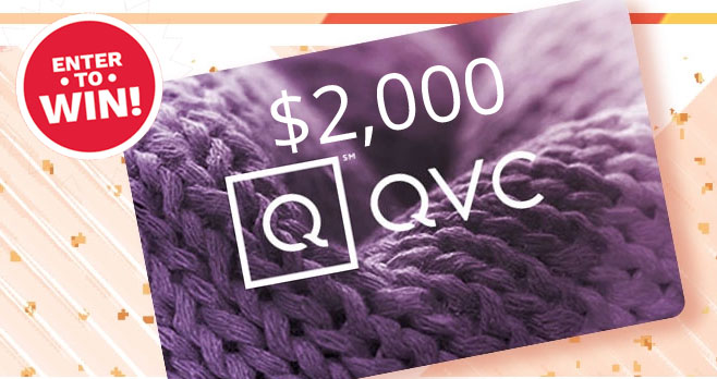 From August 22 through August 29, enter the QVC Your Inspo Spot Sweepstakes daily for your chance to win a $2,000 QVC eGift Card. How's that for a little inspiration?