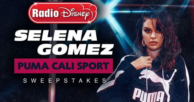 Enter for your chance to win pair of #PUMA Cali Sport Shoes signed by #SelenaGomez from #RadioDisney #RDSweepstakes