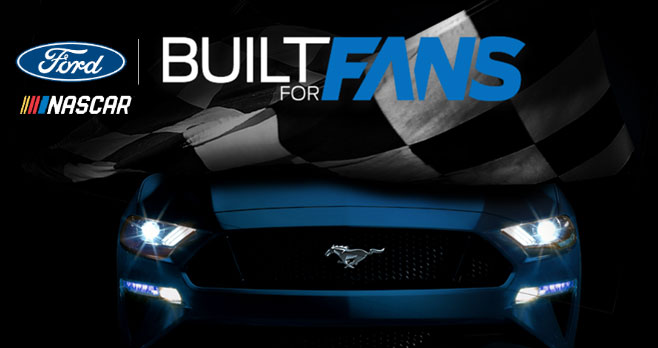 Enter for your chance to win a 2020 Ford Mustang GT! Get ready for the ride of your life. Tune in to select NASCAR Playoffs™ broadcasts this season for a raceday promo code. Then enter the code for5 extra entries.