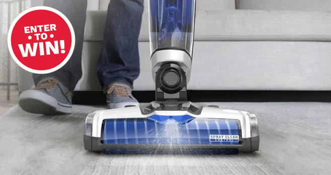 """Enter Bob Vila's $3,000 """"Inside and Out"""" Fall Cleaning Giveaway with HOOVER daily to increase your chances of winning one of three prize packages from HOOVER, consisting of five ONEPWR cleaning tools, plus a SmartWash PET Carpet Cleaner."""