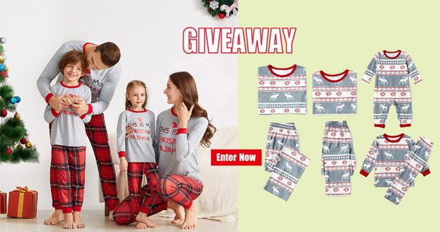 Enter for your chance to win a set of mommy and me matching pajamas from IFFEI! Festive, Holiday-Inspired Designs. Pajamas set comes in sizes for adults, kids, toddlers and infants for a picture-perfect matching look during the holidays.