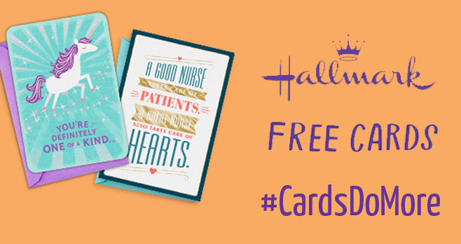 Hallmark is giving away 1 million free greeting cards so students and their families can thank the teachers, school administrators and staff that inspire us every day. #CardsDoMore Sign up to get yours today.