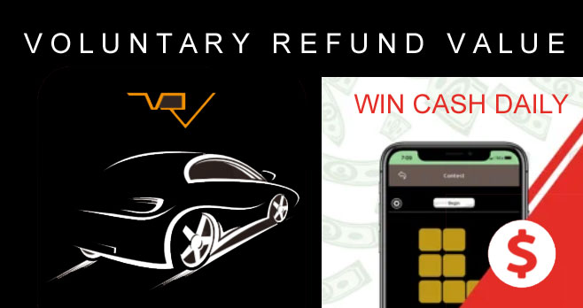 Download the Free Voluntary Refund Value app, finish the word puzzle, and you're entered into the daily random drawings to win cash prizes. You will be paid through Apple Pay, Google Pay, Venmo or PayPal.