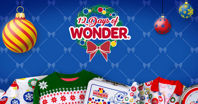 The holidays are here, and Wonder wants to help you celebrate with a little extra cheer! #12daysofgiveaways Enter for a chance to win iconic holiday merchandise as part of the 12 Days of Wonder Sweepstakes. With 12 winners each day and stacking prizes, there's plenty of opportunities to win so enter now!