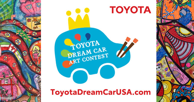 The Toyota Dream Car USA Art Contest is now accepting artwork submissions through January 31st. TheToyota Dream Car USA Art Contestis designed to inspire creativity in youth, ages 4-15, and help them imagine the future of mobility. A total of nine U.S. winners will be announced during March 2021: the top three in each of the three age categories (4-7 years old; 8-11 years old; and 12-15 years old). Judging based on three criteria: execution, uniqueness, and artistry of concept.