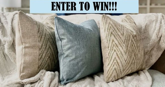 Design Theory Interiors Luxury Decorative Throw Pillows Giveaway