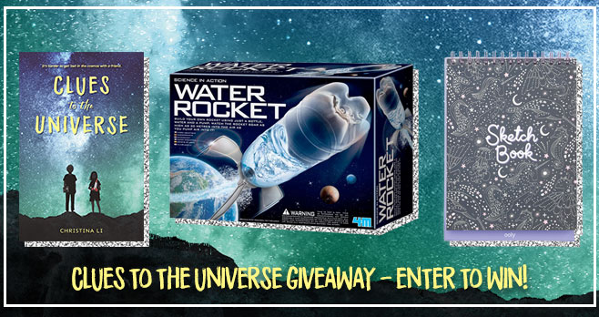 Enter for your chance to win a Clues to the Universe Prize Pack worth over $70 from YAYOMG!InClues to the Universeby Christina Li, classmates Ro and Benji are seeking out answers of their own, and while the answers don't always come easy, this pair of unlikely friends is sure to warm your heart!