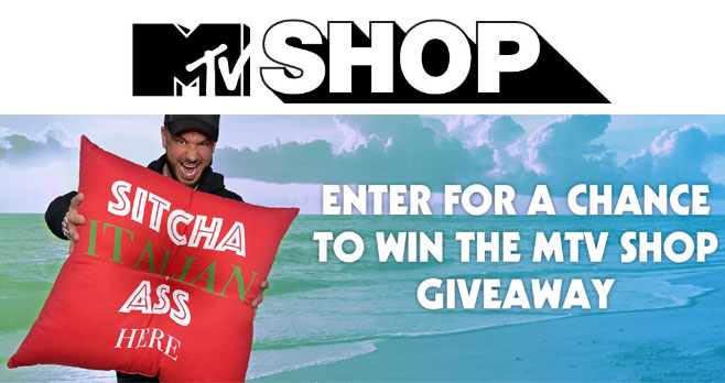 Enter the MTV Shop x Jersey Shore Family Vacation Giveaway for your chance to win 1 of 3 MTV Shop prize packages. The First Place Winner will receive products signed by Pauly D!