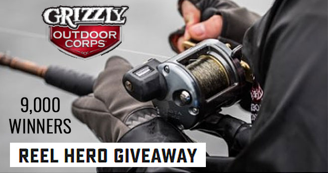 9,050 CASH PRIZES! Play the Grizzly Reel Hero Instant Win Game daily and you could win $25 or $500 to put toward your next license. Take the daily Fishing Poll for chances to win a $25 instant prize and earn entries toward a $500 weekly prize that you could put toward an annual or lifetime fishing license.