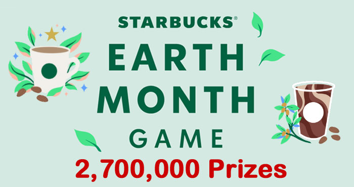 Starbucks has a new Instant Win Game and you get the chance to win a year of nondairy drinks from Starbucks or an electric bike from Rad Power Bikes PLUS Play for the chance to win Stars, free drinks, 50% off food and more.