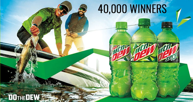 Mtn Dew Outdoor Stimulus Instant Win Game