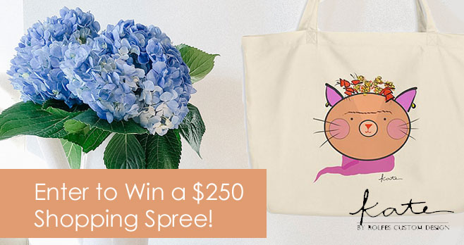 Kate by RCD is giving you the chance to win $250 cash to spend on a shopping spree for yourself! Check out all the new and unique products! Come back daily and earn extra chances to win!! #giveaway