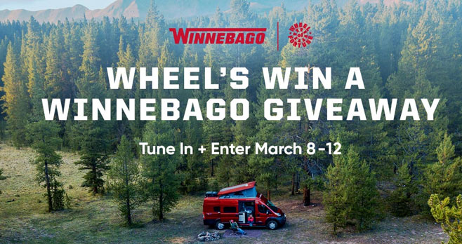 Enter the Wheel Of Fortune Winnebago Sweepstakes daily through March 13th for your the chance to win a Winnebago. Watch #WOF to get today's puzzle solution.