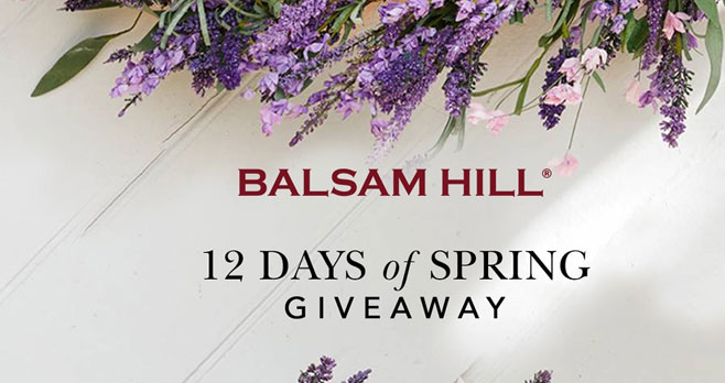 Daily Winners! Color your Easter celebrations with cheerful faux florals from Balsam Hill! Enter for a chance to win a daily prize plus one lucky winner gets a signed copy of 'One Heart at a Time' from radio host and book author, Delilah!