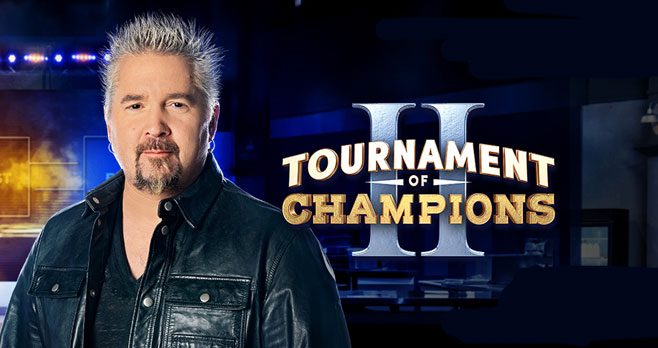 Enter for your chance to win $1,000 in cash from the #FoodNetwork! Guy Fieri's #TournamentOfChampions is here and it's time for you to make your picks for a chance to win cash + swag throughout the competition!