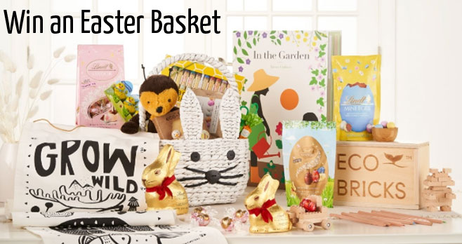 Enter for your chance to win the Ultimate Easter Basket from Lindt. To make your Easter morning extra magical this year Lindt partnered with Crate and Kids to give you the chance to win one of 2 Ultimate Easter Baskets!
