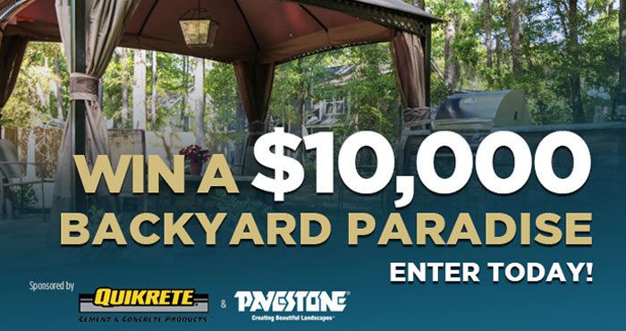 Are you longing for a backyard paradise, but aren't sure where to begin? Enter Today's Homeowner $10,000 Backyard Paradise Contest and they will do the work and transform your plain yard into the space you've been dreaming about.