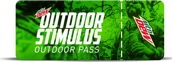 Mtn Dew Outdoor Stimulus Instant Win Game Pass