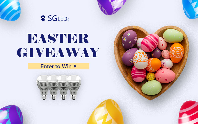3 WINNERS! Enter for a chance to win $200 worth super bright enclosed fixtures rated LED light bulbs from SGLEDS. SGLEDS LED Light Bulbs are confidently guaranteed for 5 years.