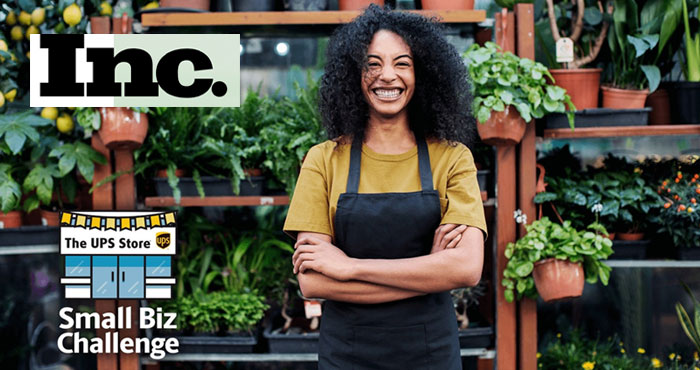 Enter for your chance to win $5,000 up to $25,000 for your small business in the 2021 UPS Store Small Biz Challenge. What makes your business unstoppable? Share for an opportunity to compete in The UPS Store Virtual Small Biz Challenge. You could win up to $25,000, a feature article in Inc. magazine and a video shoot to showcase your business on Inc. and The UPS Store social channels.