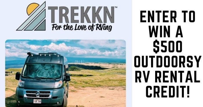 How would you like to experience an Outdoorsy RV rental for yourself? Enter to win a $500 Outdoorsy RV Rental credit so you can take to the open road this summer. Good luck to you!