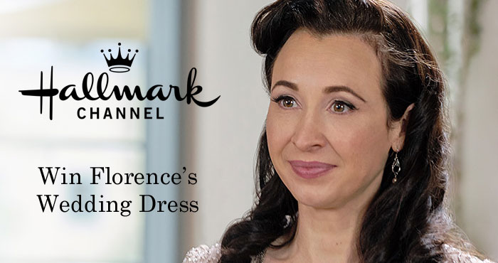 """If you love Hallmarks Channel's """"When Calls the Heart"""" you will want to enter for your chance to win Florence Blakely's wedding dress that appeared in the wedding episode of When Calls the Heart."""