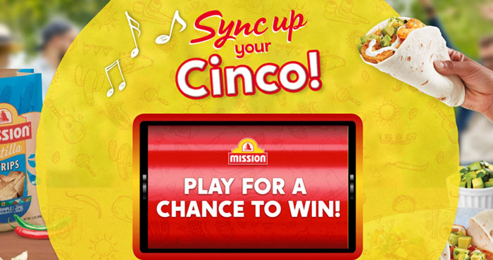 Mission Foods has a Hot new instant win game! You'll want to play to this new Mission 'Sync Your Cinco' Instant Win Game daily to see if you can instantly win 1 of 1,081 various prizes! Prizes include AirPods Pro,Bose sound bars, Spotify gift cards, a Karaoke machine and more.