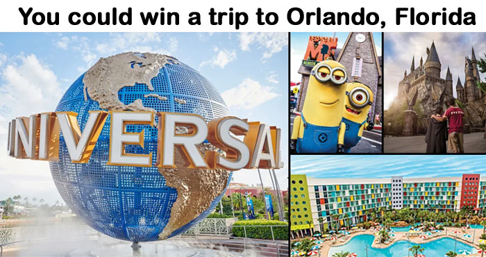 Orlando will always be a place to reconnect with what matters most to create wondrous memories. And now you can be a VIP and win the ultimate family vacation package to Orlando!