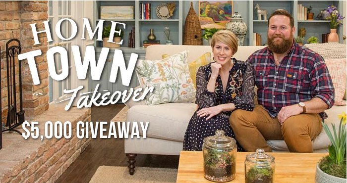 HGTV Celebrate Home Towns $5,000 Sweepstakes