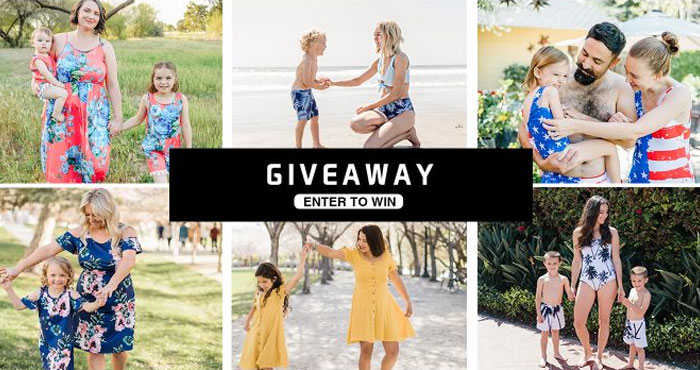 IFFEI makes cute Mommy and Me matching swimsuits and sundresses that you can mix and match. Enter for your chance to win. Enter now and you could win your choice. Each winner will receive a set of mommy and me matching outfits (swimsuits or dresses of your choice)