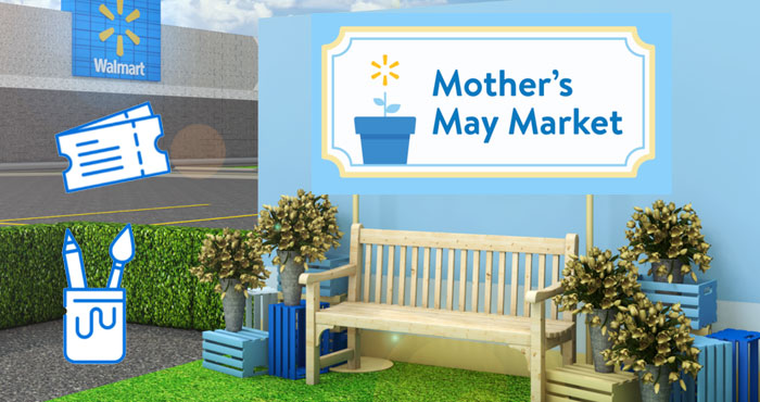 Your local Walmart store may be hosting a Free Mother's May Market where you will get to choose a handmade gift to make for Mom that she'll truly love.