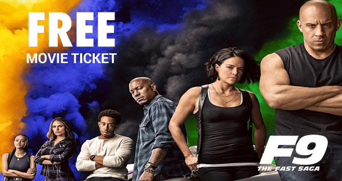 FREE Fast and Furious Movie Tickets