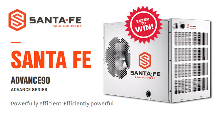 Enter Bob Vila's annual Humidity Be Gone Giveaway with Santa Fe.