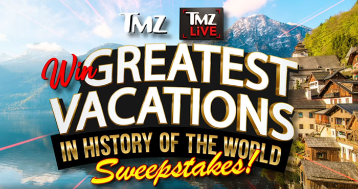 TMZ is giving you the chance to win over 4 weeks of vacation in the world's best destinations provided by Wyndham Rewards. A prize valued at over $24,000!