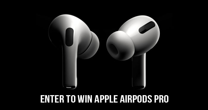 Enter for your chance to win a brand new pair of Apple AirPods headphones! Simple complete as many entries as you wish, and share with your friends for bonus entries.