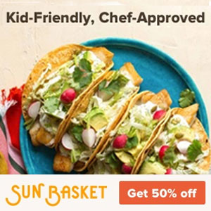 Sun Basket Kid Friendly meals Save 50% off