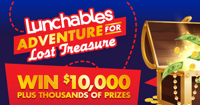 Dive deep into the ocean world, discover special creatures, and find the treasure chest for a chance to win cash and gift cards instantly in the Lunchables Adventure for Lost Treasure Instant Win Game