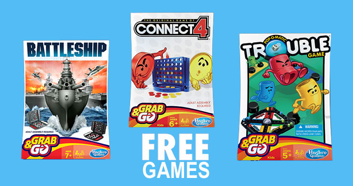 Get a FREE Hasbro Game from Quaker