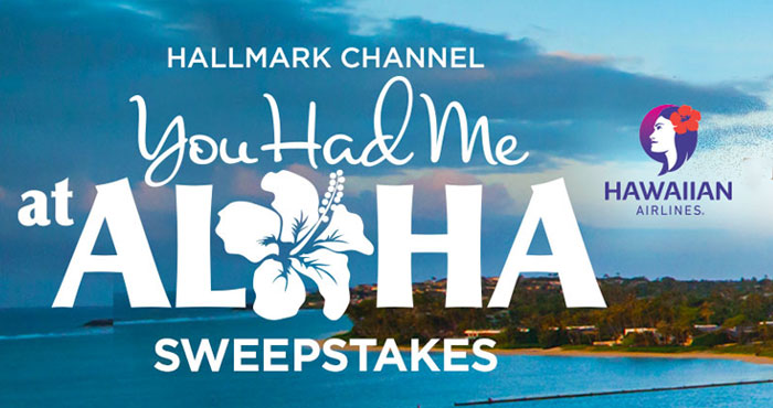 Enter for a chance to win a trip for two to fly Hawaiian Airlines to beautiful Honolulu and stay at The Kahala Hotel & Resort! Enter the Hallmark Channel You Had Me at Aloha Sweepstakes for your chance.