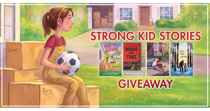 Enter for your chance to win a Strong Kids Stories Prize Pack from YAYOMG! Girl power scores a goal in this uplifting story of teamwork, new beginnings, and coming together to fight for what's right - perfect for fans of Lisa Graff and Lynda Mullaly Hunt.