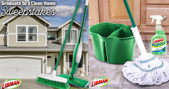 How would you like to have a chance to win a Libman Clean Prize Package? #giveaway You can do just that with the Libman #GraduateToACleanHome #Sweepstakes. Visit visit the website to enter and follow @libmancompany on Twitter