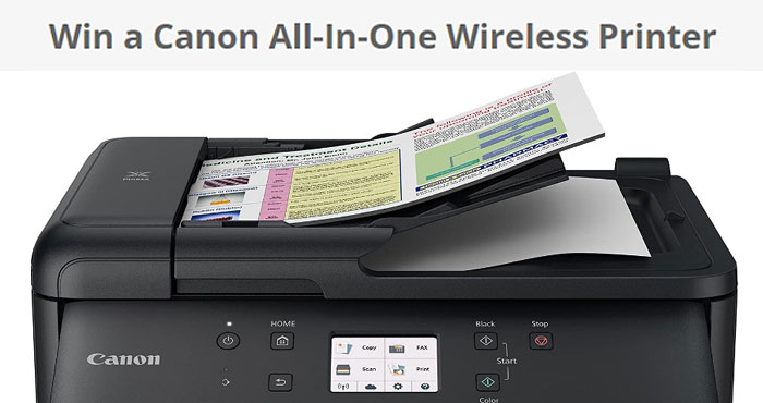 Enter for your chance to win Canon All-In-One Wireless Printer and others who participated can get one free ink cartridges as well.What a lovely surprise that you don't have to buy a canon printer from now on! Because now we are going to get one in your hands.
