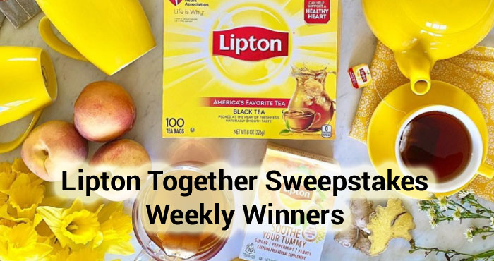 Lipton is giving you the chance to win an Amazon Echo Dot smart speaker with Alex plus one grand prize winner will win a a trip for four to attend the Luke Bryan concert on October 9, 2021 in Mountain View, CA