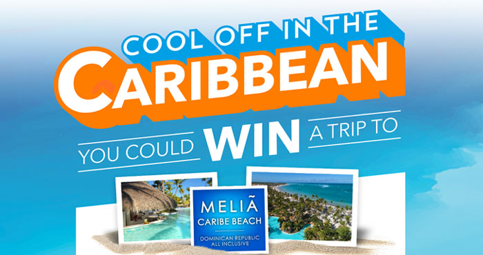 Langers Juice is giving you the chance to win a trip to Meliá Caribe Beach Resort with a 5-day/4-night all-inclusive stay for a family of four in the Dominican Republic, including round-trip airfare. Plus, 20 first prize winners will each win 15 64oz. bottles of Langers Juice.