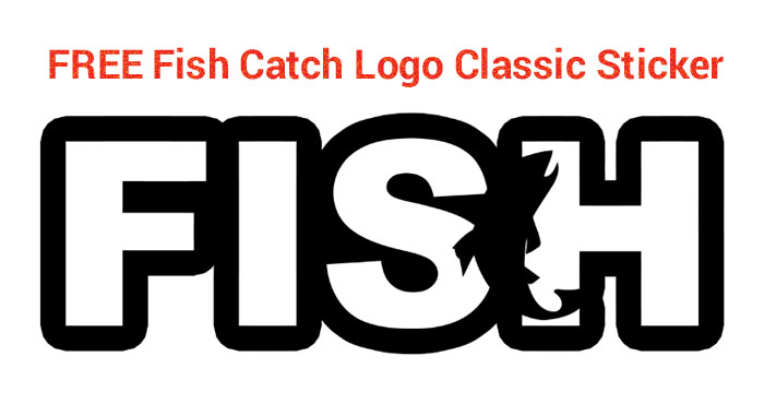 """Shipped for FREE directly to you… Fish Brand Stickers easily apply to hard surfaces including boats, vehicles, trailers, windows, bottles, laptops, and more. Size of decal is approximately 6"""" wide."""