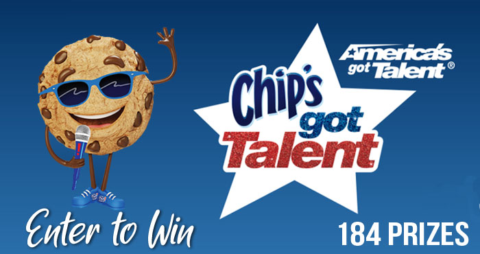Chips! Ahoy Chip's Got Talent Instant Win Game