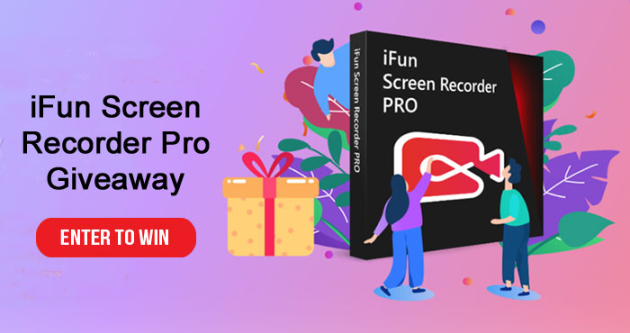 Enter for your chance to win a Free copy of IObit's iFun Screen Recorder Pro Key ($32.99 value). Capture any parts of the screen with game and microphone sound. Record webcam for your face on the video. Trim and cut the video to any length and post to YouTube, Facebook, Vimeo.
